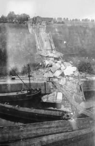 St. Heemkunde Wolder brug Vroenhoven 1944 opgeblazen